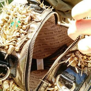 Haiying Snider Bags - Haiying Snider - Gold Spikes & Treasure Barrel Bag